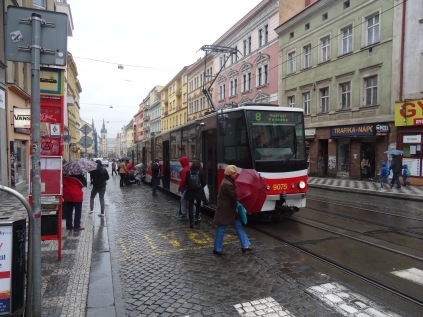 My wheels in Prague