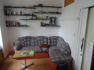 Living room in Prague