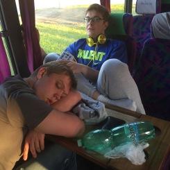 Early mornings and sleepy players